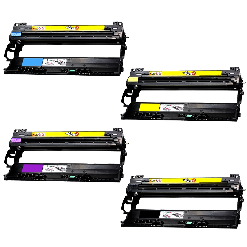 Compatible Brother DR210 toner drum - 4 pack
