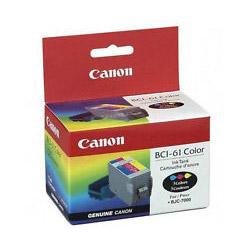Original Canon BCI-61 inkjet cartridge - color