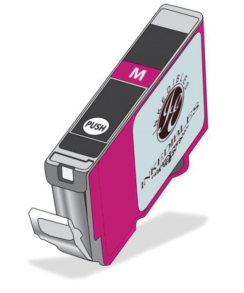 Inkedibles Edible ink cartridge for Canon CLI-251 XL - deep magenta