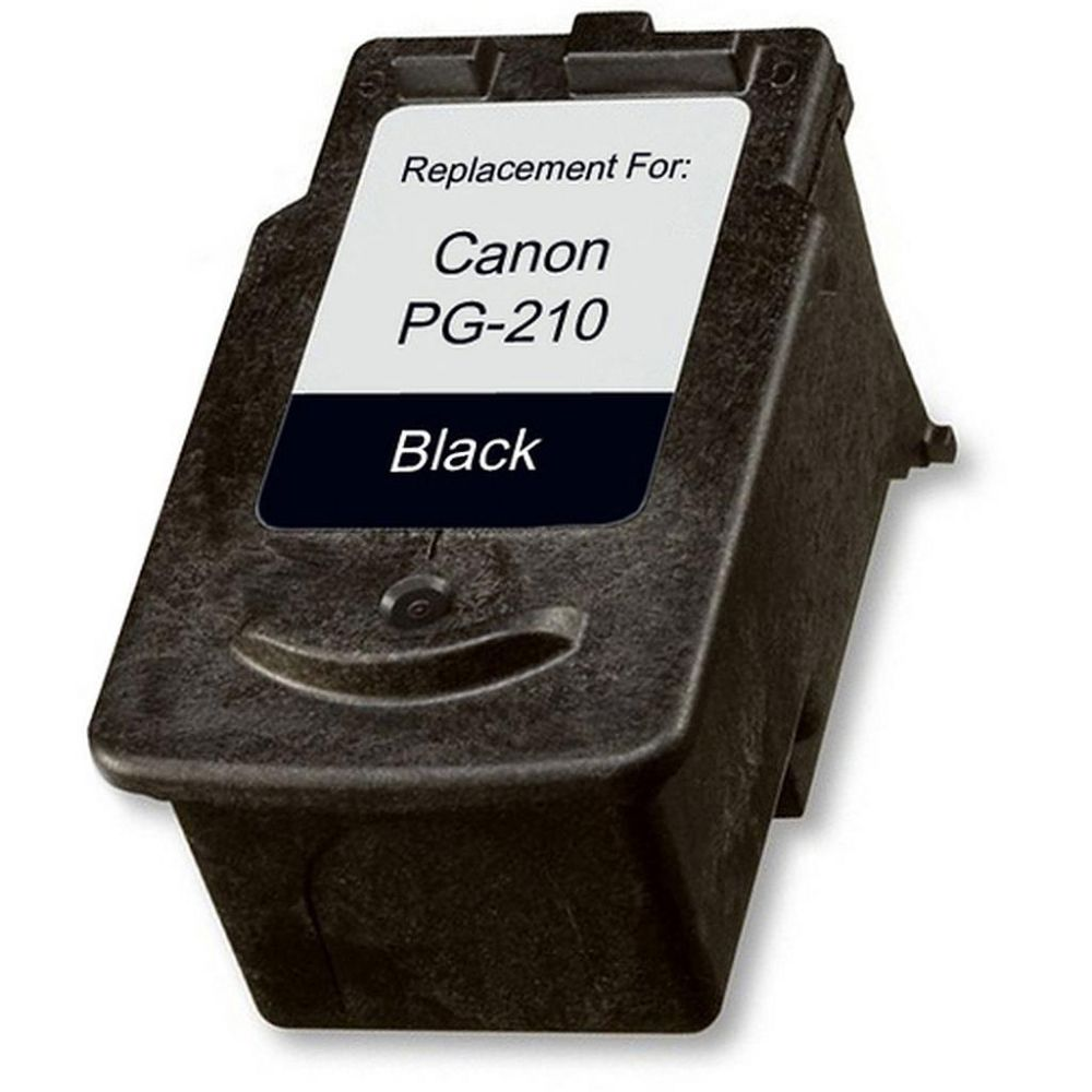 Remanufactured Canon PG-210 inkjet cartridge - black