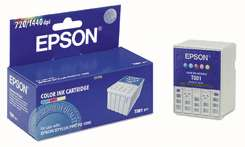Original Epson T001011 inkjet cartridge - photo