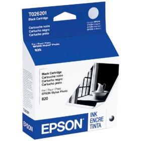 Original Epson T026201 inkjet cartridge - black
