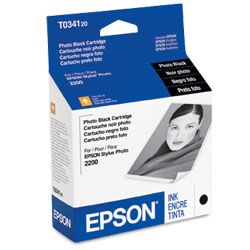 Original Epson T034120 inkjet cartridge - photo black