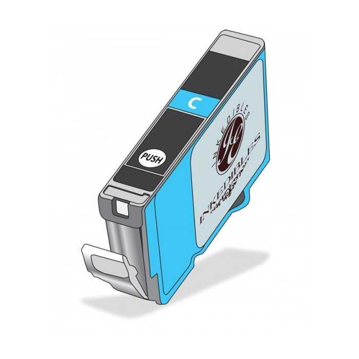 Inkedibles Edible Ink Refillable Cartridge for Epson T252XL220 (Cyan)