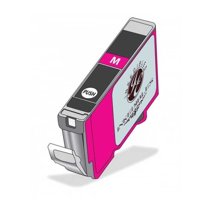 Inkedibles Edible Ink Refillable Cartridge for Epson T252XL320 (Magenta)