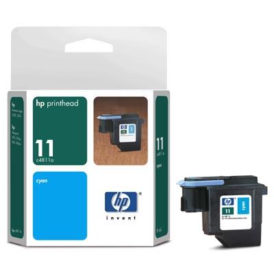 HP DesignJet 500ps C7769CR Cyan Ink Printhead (Genuine) C4811A