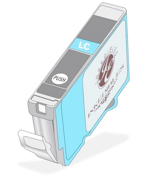 IE-045 - Light Cyan Edible Ink Cartridge for CakePro750/750A